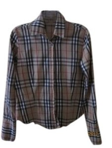 Burberry Top Checkered