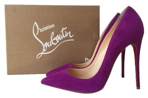 Christian Louboutin So Kate 120 Bougainvillier Suede Fushia Fuschia Pink Violet Pigalle Follies 100 120mm 100mm 40.5 So Kate 120 Purple Pumps