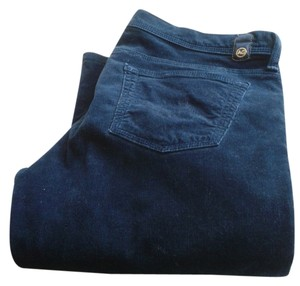 AG Adriano Goldschmied Boot Cut Pants navy cords