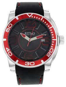 Ritmo di Perla Ritmo Mundo Black Apollo 711/3 Stainless Steel Quartz Men's Watch (9430)