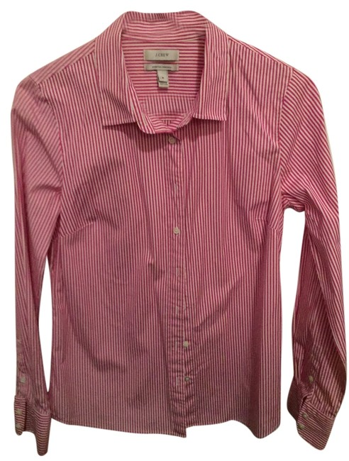 Preload https://item3.tradesy.com/images/jcrew-striped-stretch-perfect-shirt-in-classic-button-down-top-size-6-s-10524742-0-1.jpg?width=400&height=650