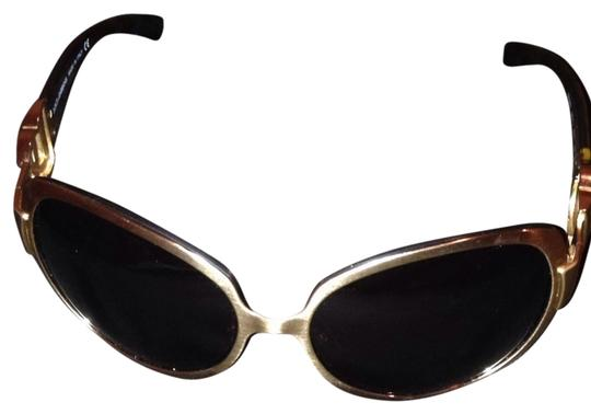 Dolce&Gabbana D&g Gold And Brown Sunglasses Style2031