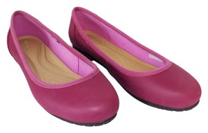 Crocs Comfortable New Flat Pink Flats