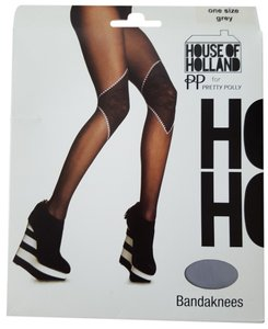 House of Holland House of Holland for Pretty Polly Bandaknees Tights