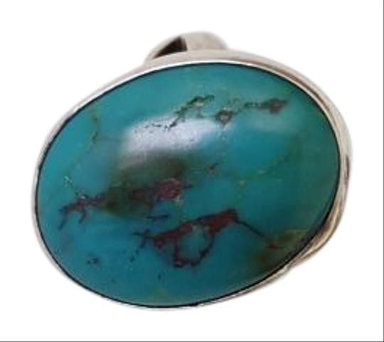 Preload https://item1.tradesy.com/images/green-silver-turquoise-ring-10525390-0-7.jpg?width=440&height=440