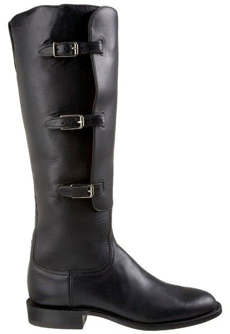 Item - Black Oil Calf Polo Riding Boots/Booties Size US 7 Regular (M, B)