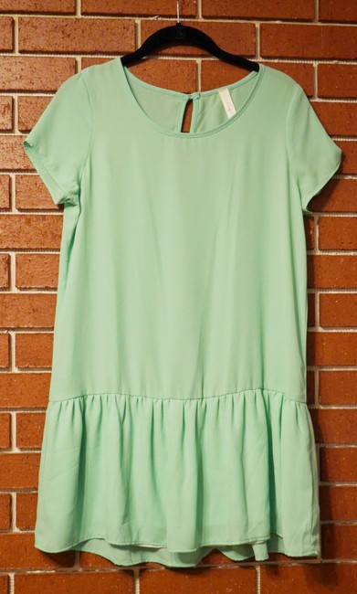 Lovely Day short dress Bright Green Drop Waist Summer Party Spring Nasty Gal Nastygal on Tradesy