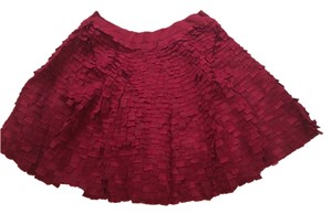 ADAM Deconstructed Circle Skirt Red / Crimson