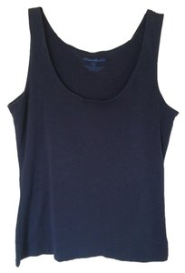 Eddie Bauer Top Navy Blue