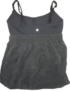 Lululemon Black Spaghetti Tank Top w/Built In Bra