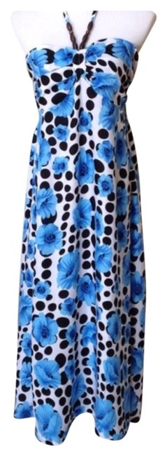Preload https://img-static.tradesy.com/item/1052696/blueblackwhite-casual-maxi-dress-size-12-l-0-0-650-650.jpg