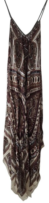 Item - Brown Multi Scarf Dress Cover-up/Sarong Size OS (One Size)