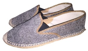 Kanna Black brown tan Flats
