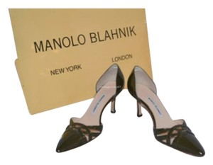 Manolo Blahnik Olive green Pumps
