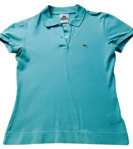 Lacoste Button Down Shirt Aqua