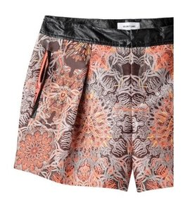 Helmut Lang Medallion Embroidered Jacquard Dress Shorts