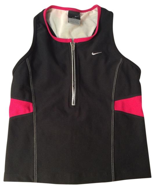 Nike Top Black and Hot Pink