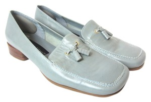 Etienne Aigner Sea Foam Blue Flats