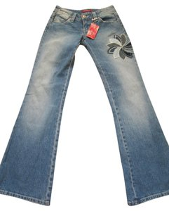 UNIONBAY Flare Leg Jeans-Medium Wash