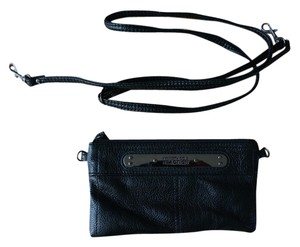 Kenneth Cole Reaction Wallet Crossbody Black Clutch