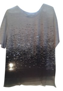 Jason Wu T Shirt grey in top, black on the buttom