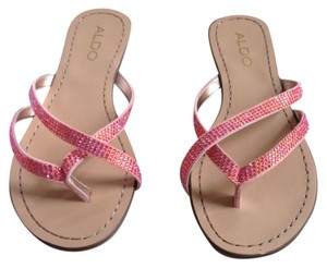ALDO Sandal Coral Jewel Peach Sandals