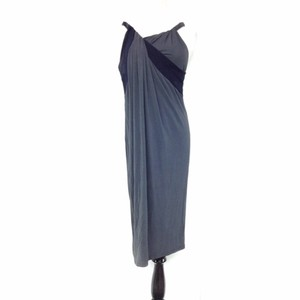 Max Mara Shift Draped Fold Over Twist Braided Strap Viscose Lined Grecian Date Classic Dress