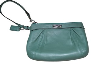 Coach Wristlet in Mint