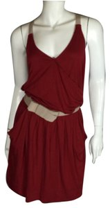 See by Chloé short dress Chloe Chloe Red on Tradesy
