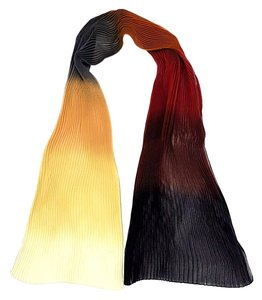 Issey Miyake Pleats Multi color scarf
