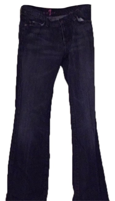 Preload https://img-static.tradesy.com/item/10533199/7-for-all-mankind-blue-with-pink-detail-boot-cut-jeans-size-28-4-s-0-1-650-650.jpg