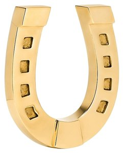 Tory Burch NEW Tory Burch Gold Horseshoe Home Office Work Paperweight NIB!