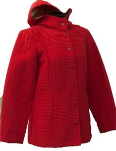 Cole B Quilted Weather Hooded Coat