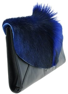 Ted Baker Fur Black Clutch