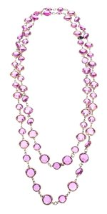 Chanel Chanel Vintage Pink Sautoir Necklace