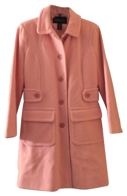 Preload https://item4.tradesy.com/images/moda-international-pink-pea-coat-size-petite-10-m-10534768-0-1.jpg?width=400&height=650