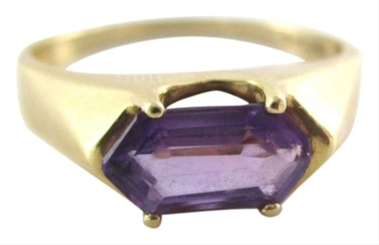 Preload https://item5.tradesy.com/images/gold-14k-yellow-purple-stone-designer-9-wedding-band-engagement-ring-1053539-0-0.jpg?width=440&height=440