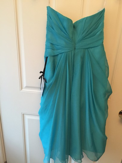 Enzoani Sapphire Chiffon Love By D4 Formal Bridesmaid/Mob Dress Size 4 (S)