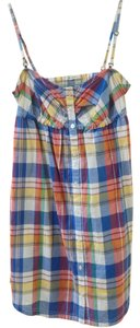 Lee short dress Multicolor Plaid Summer on Tradesy