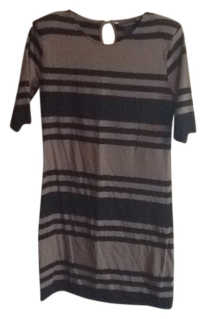 Preload https://item3.tradesy.com/images/french-connection-greyblack-stripe-above-knee-night-out-dress-size-10-m-1053627-0-0.jpg?width=400&height=650