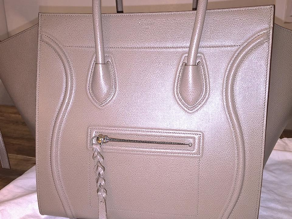 taupe celine phantom bag