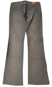 Jill Stuart Straight Leg Jeans-Light Wash