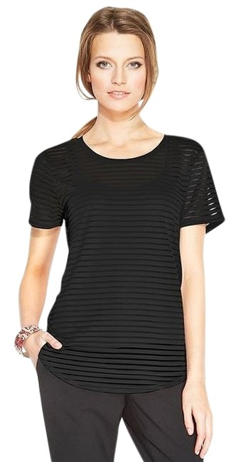 Preload https://img-static.tradesy.com/item/1053857/vince-camuto-black-or-ivory-illusion-stripe-blouse-size-6-s-0-0-650-650.jpg