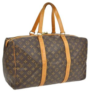 Louis Vuitton 45 Travel Sac Souple Keepall Travel Bag