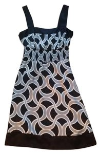 Other short dress Black/Silver/White on Tradesy