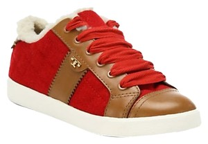 Tory Burch red brown Athletic