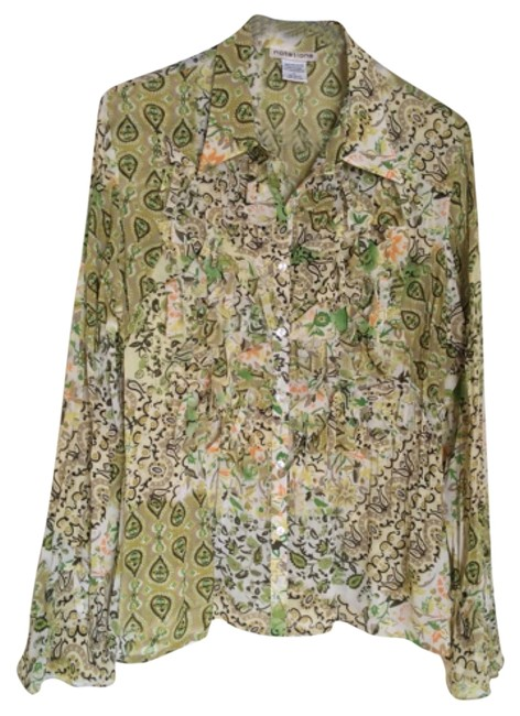 Preload https://item1.tradesy.com/images/notations-green-button-down-top-size-12-l-10539790-0-1.jpg?width=400&height=650
