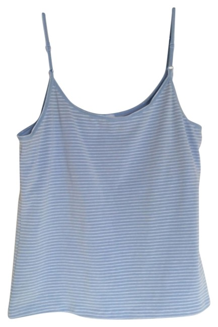 Preload https://img-static.tradesy.com/item/10539862/french-dressing-jeans-light-blue-and-white-tank-topcami-size-12-l-0-1-650-650.jpg