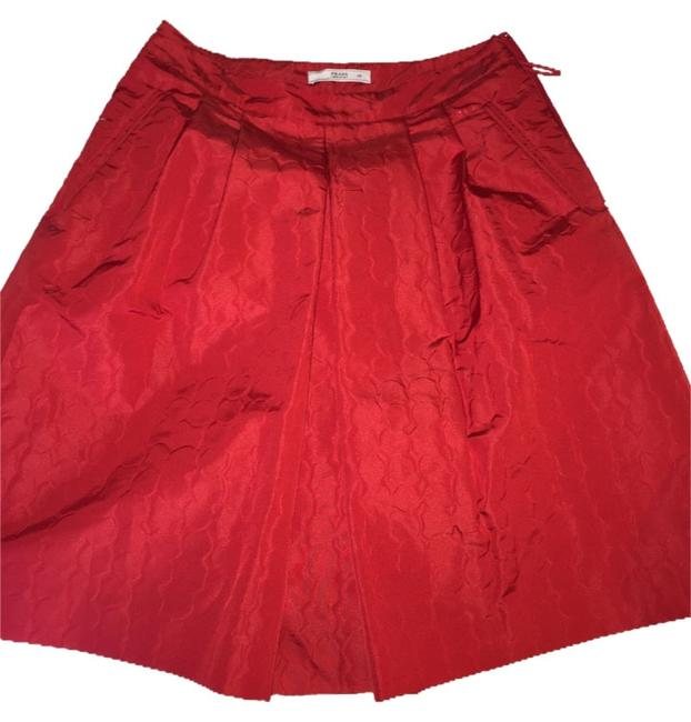 Preload https://item4.tradesy.com/images/prada-red-cocktail-special-occasion-knee-length-skirt-size-4-s-27-10540618-0-1.jpg?width=400&height=650