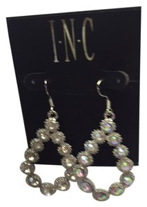 INC International Concepts I.N.C. International Concepts Silver Faux Diamonds Earrings